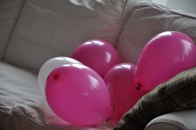 palloncini colorati, menu festa di compleanno, ricette,monodose cucina