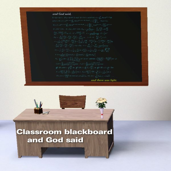 Blackboard Innovative Classroom ~ Simming in magnificent style classroom blackboard and god