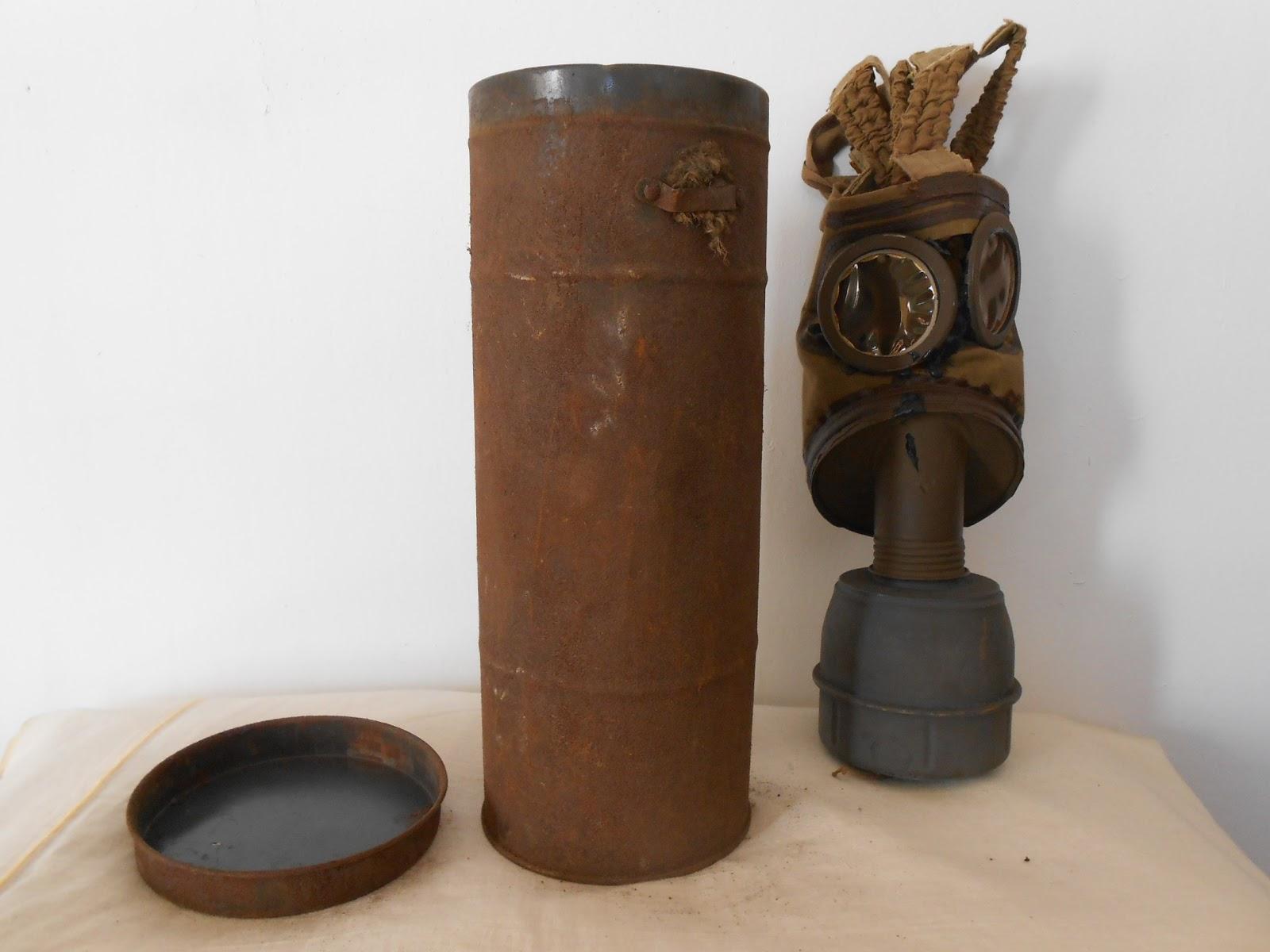masque à gaz de la première guerre mondiale