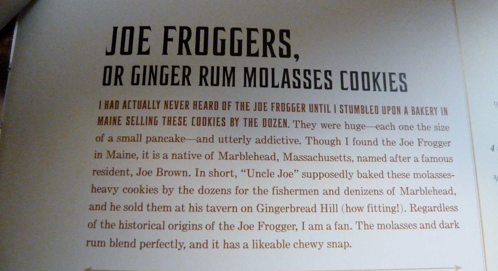 Have Apron....Will Bake: Frogger....Joe Frogger