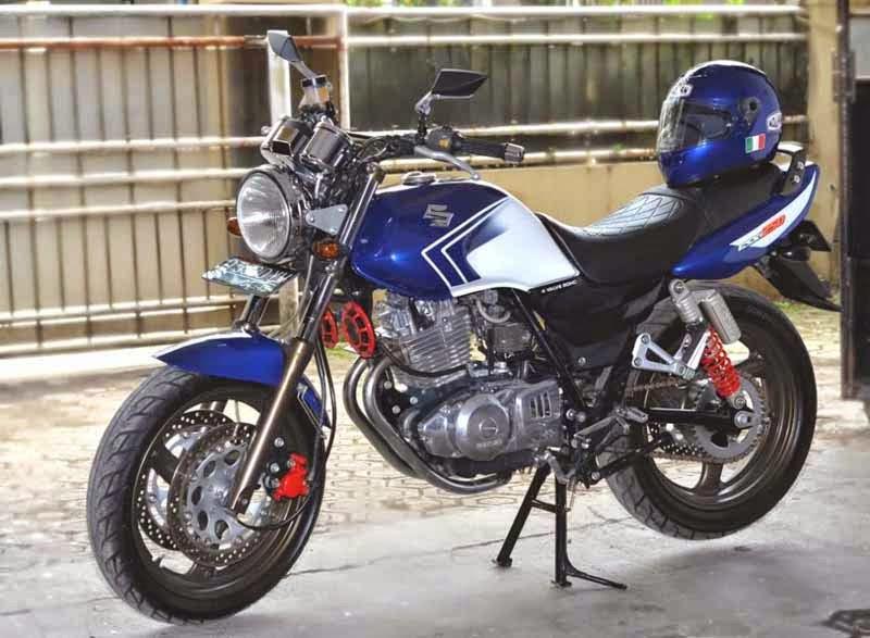 Modifikasi Suzuki Thunder 250 Sporty