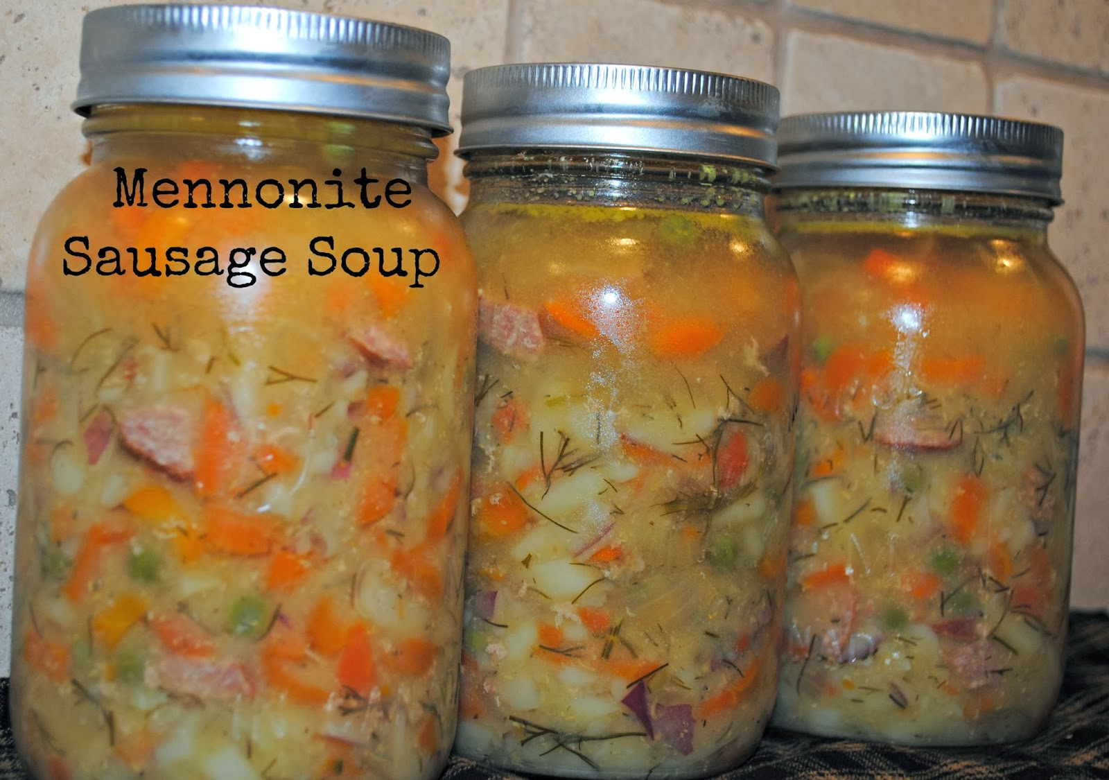 Little Prairie Baby: Mennonite Sausage Soup