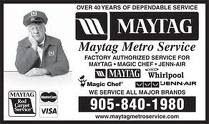 Maytag Metro Appliance Repair