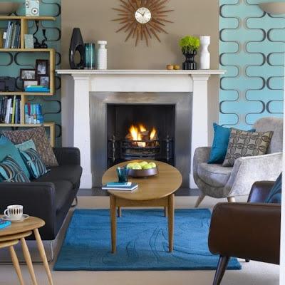 Living room seating arrangements