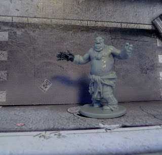 Zombicide zombie Mantic painted conversion hand fatty