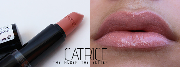 catrice the nuder the better lipstick swatch