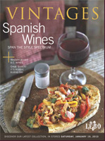 Cover photo of January 19, 2013 LCBO Vintages Magazine