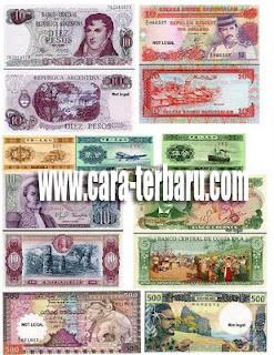 Mata Uang Negara Asing Didunia