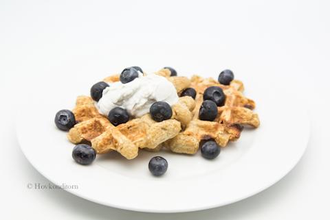 Gluten-Free Waffles with Baobab