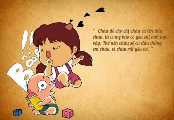 Định nghĩa thú vị về Tình Yêu trong mắt trẻ thơ