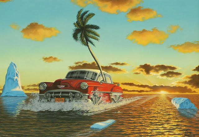 Imag Cuba Paisaje Carro Playa_1