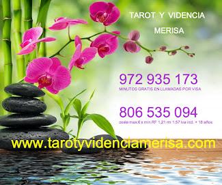 TAROT Y VIDENCIA MERISA   Hola amig@s me llamo Merisa desde pequeña la videncia me ha acompañado .
