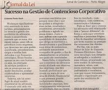 Sucesso na gestão de contencioso corporativo