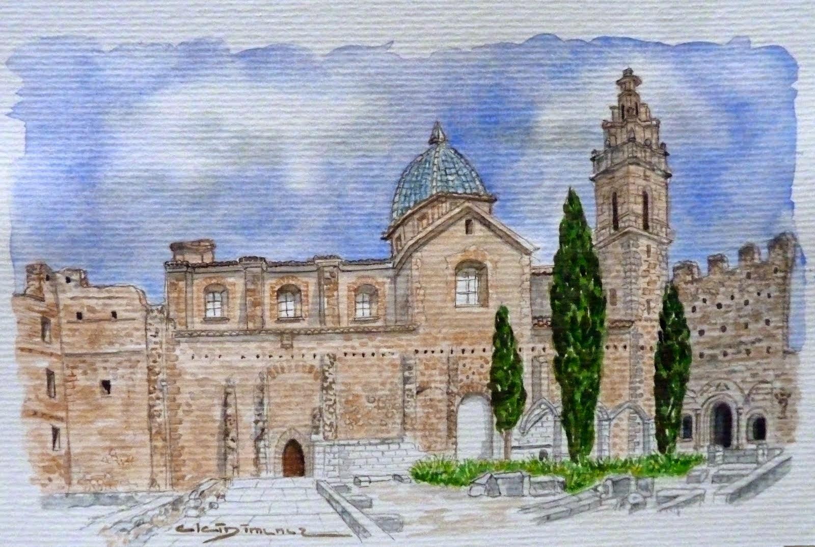 Monastir de Santa Maria de la Valldigna                    3 de setembre 2014