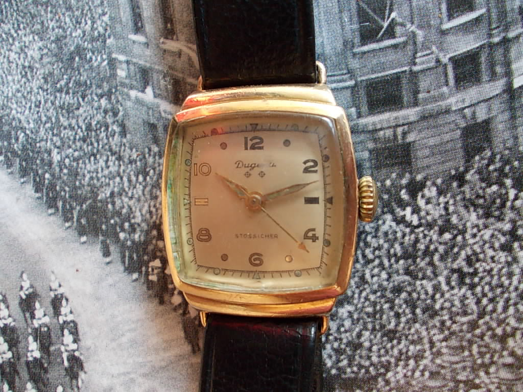 vintage watches: Dugena RM250