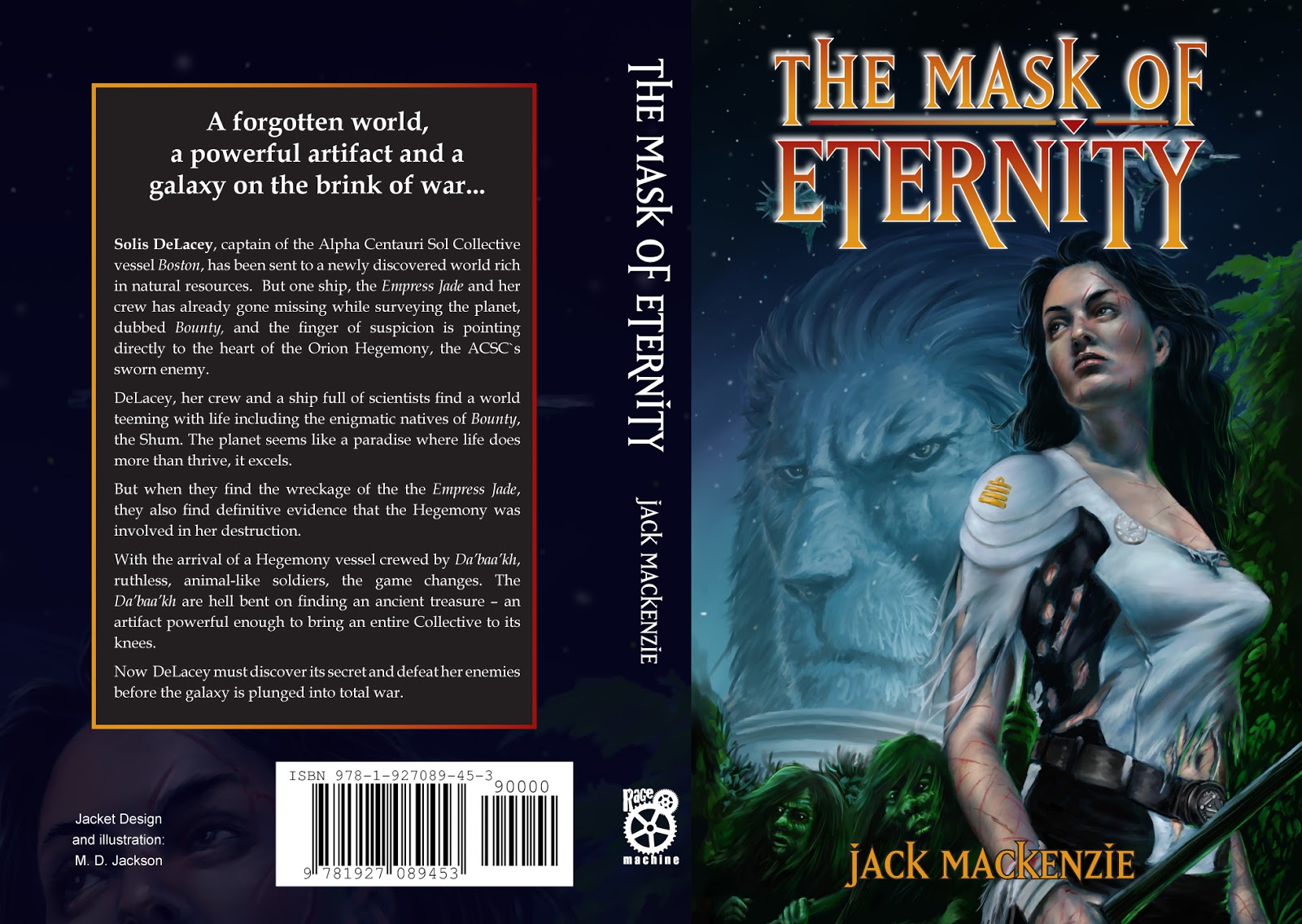 THE MASK OF ETERNITY - PRINT VERSION