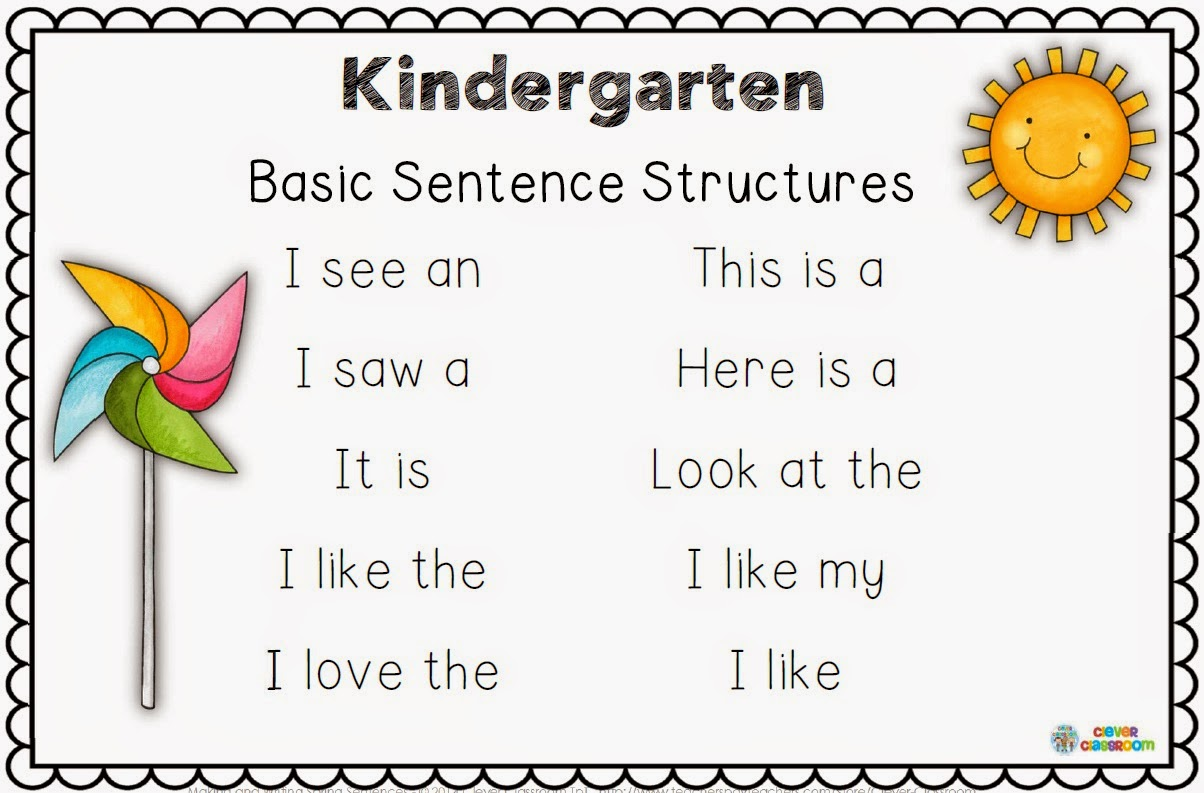 All Grade Worksheets Simple And Compound Sentences Worksheet – Kindergarten Writing Sentences Worksheets