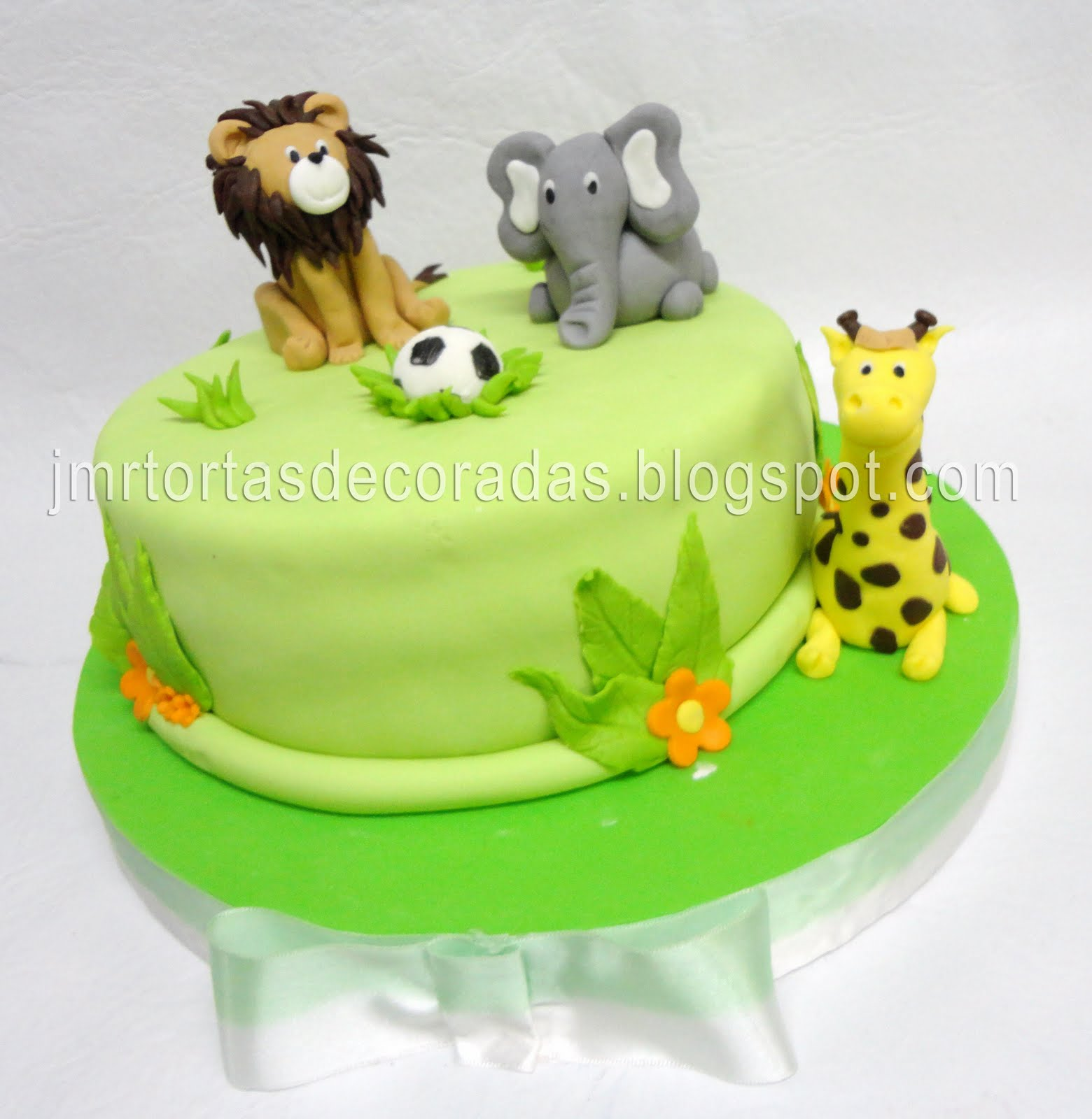 Animalitos Selva Jmr Tortas Decoradas