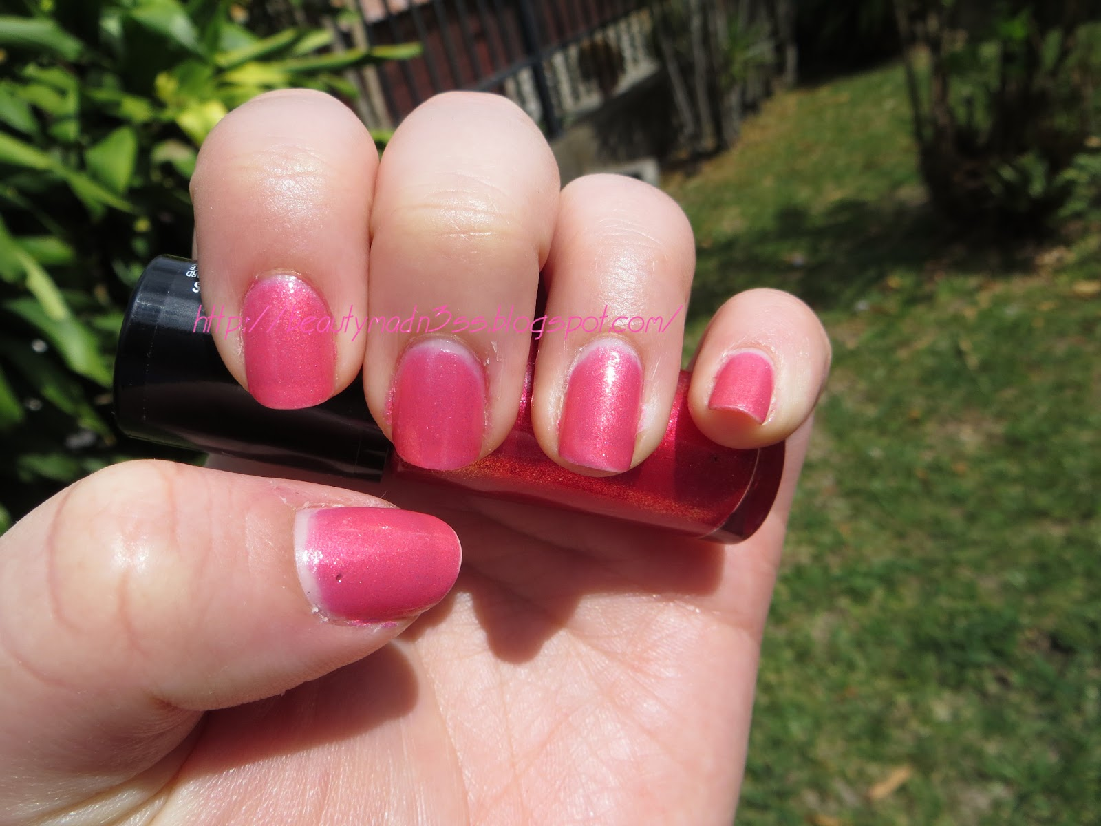 Hard Candy Little Bo Pink swatch