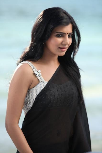 Samantha in saree stills