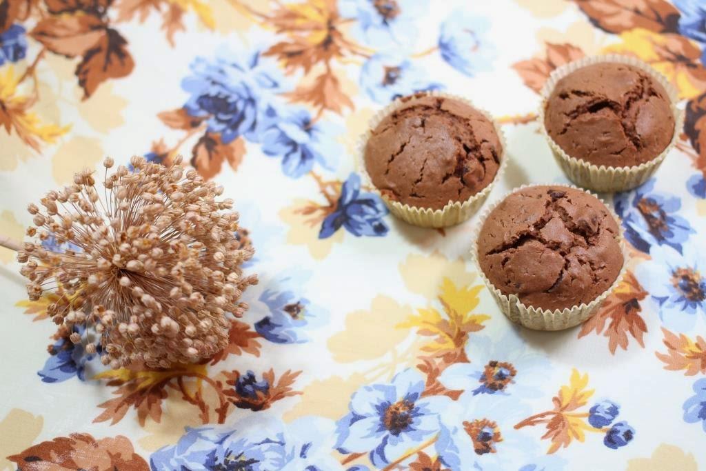 Muffins de chocolate - El dulce mundo de Nerea