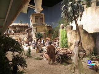 Sevilla - Navidad 2014 - Belén de la Fundación Cajasol