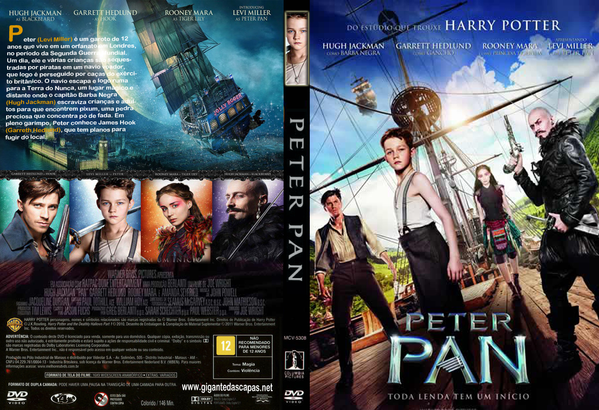 New movie peter pan