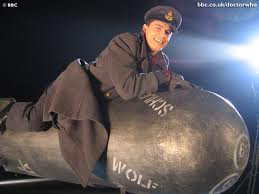 jack harkness john barrowman doctor who torchwood riding a bomb