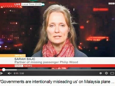 MH370 Pasangan Philip Wood Yakin Pesawat Tidak Terhempas