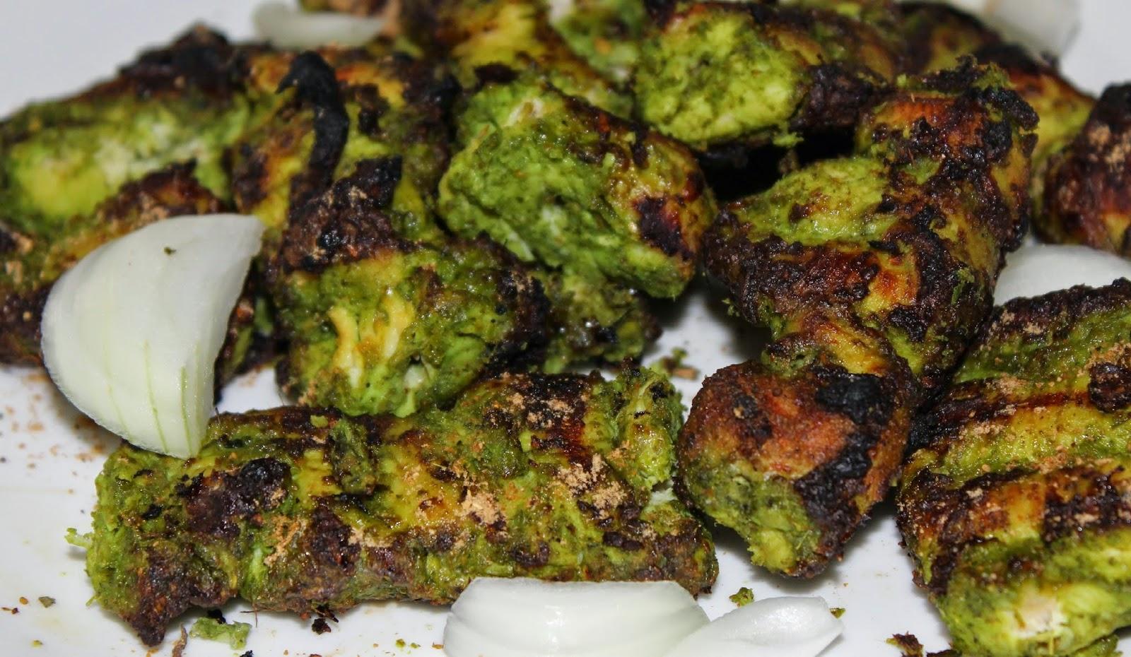 recipe: chicken hariyali tikka [8]