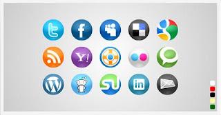 Blogger Sosyal Paylaşım Sayfa Butonları