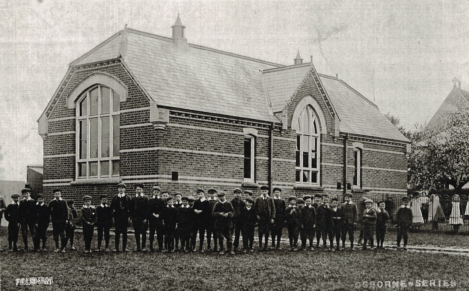 Felsham and Gedding School undated photo