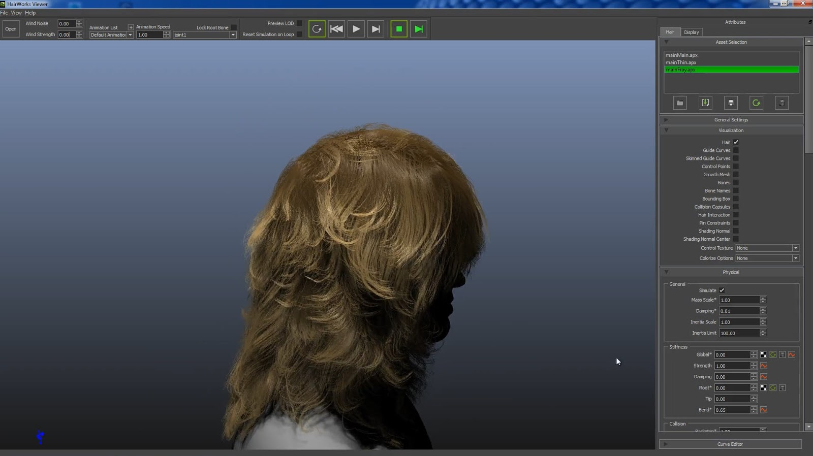 Download Nvidia HairWorks 1.1 | CG Daily News