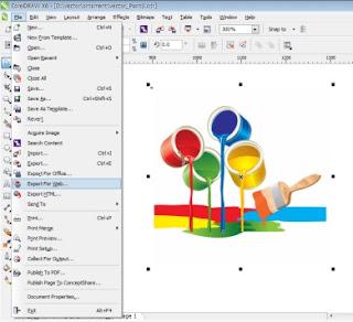 export gambar coreldraw warna akurat-trik-coreldraw-dasar-cara-bagaimana-mudah