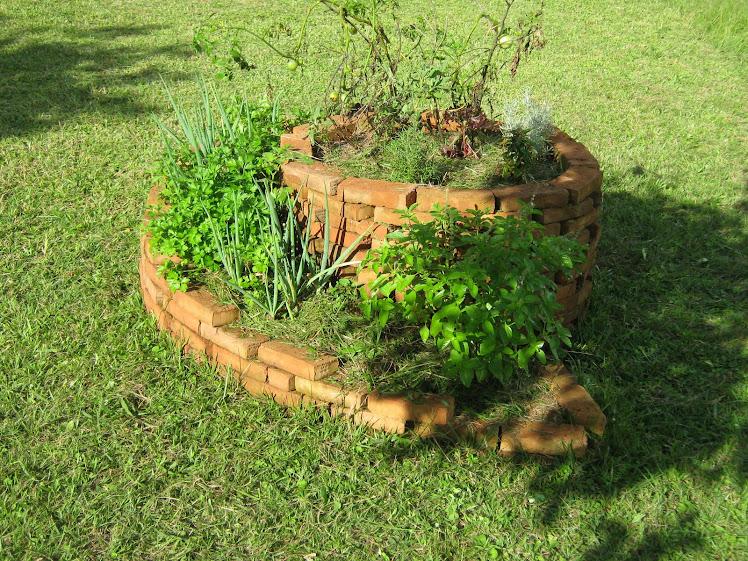 Permacultura - Espiral de Ervas