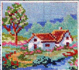 Домик в деревне. Пример работы