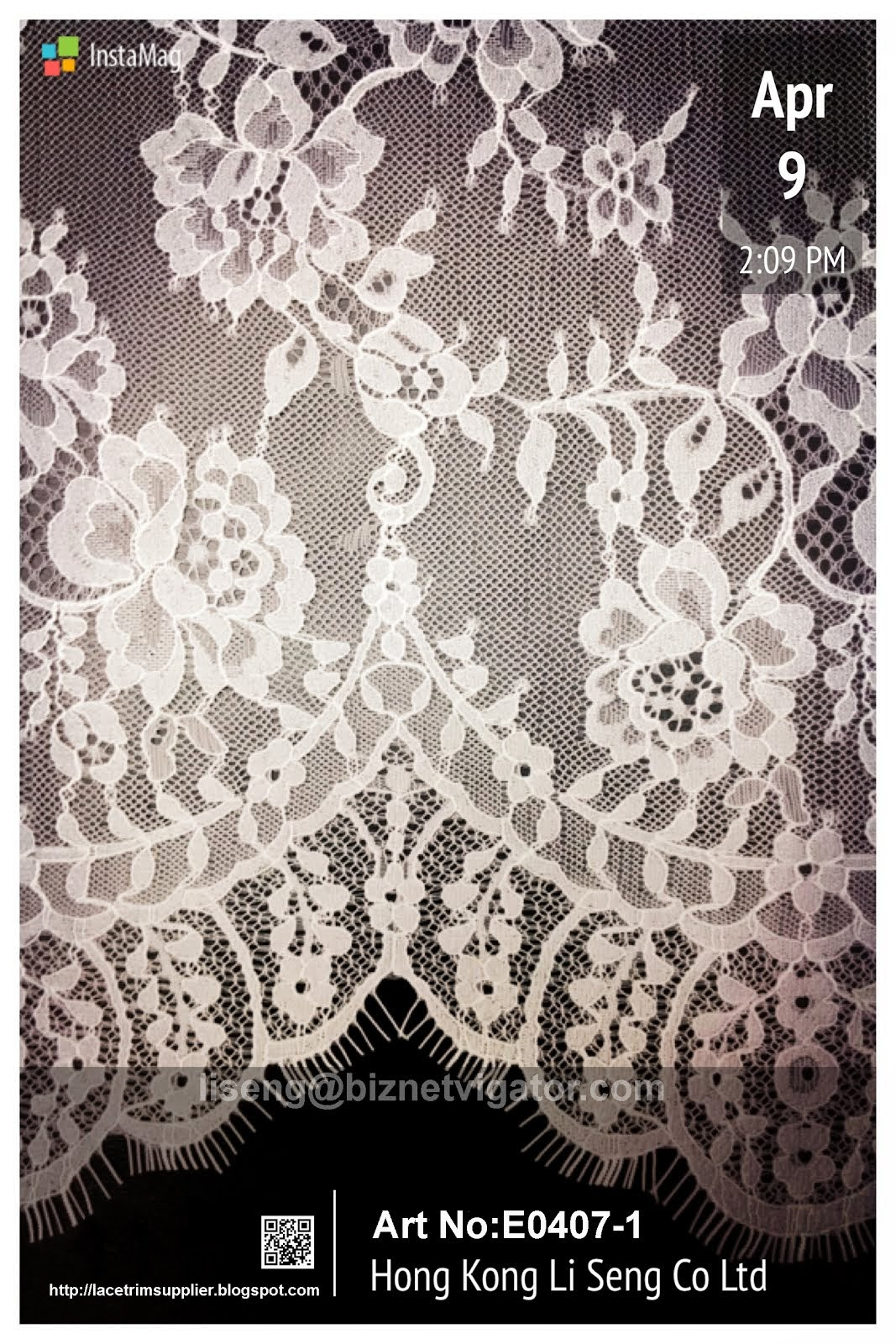 Eyelash Mesh Lace Fabric Manufacturer and Supplier - Hong Kong Li Seng Co Ltd