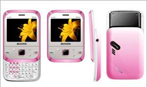 MAXX Vista MS502 Slider QWERTY Phone Specially for Ladies