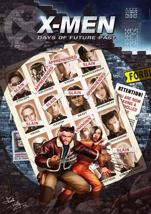 Estupendo Fan-art con los actores de la película antes de conocerse nada de X-Men: Días del Futuro Pasado