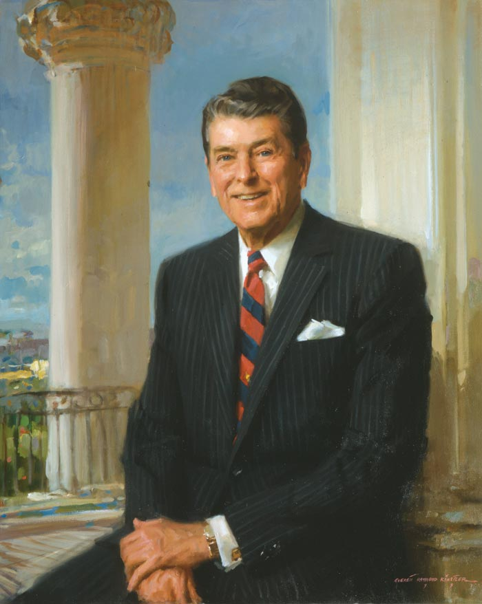 40th POTUS Ronald W. Reagan
