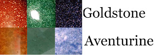 Aventurine is a gemstone, Goldstone is just glass