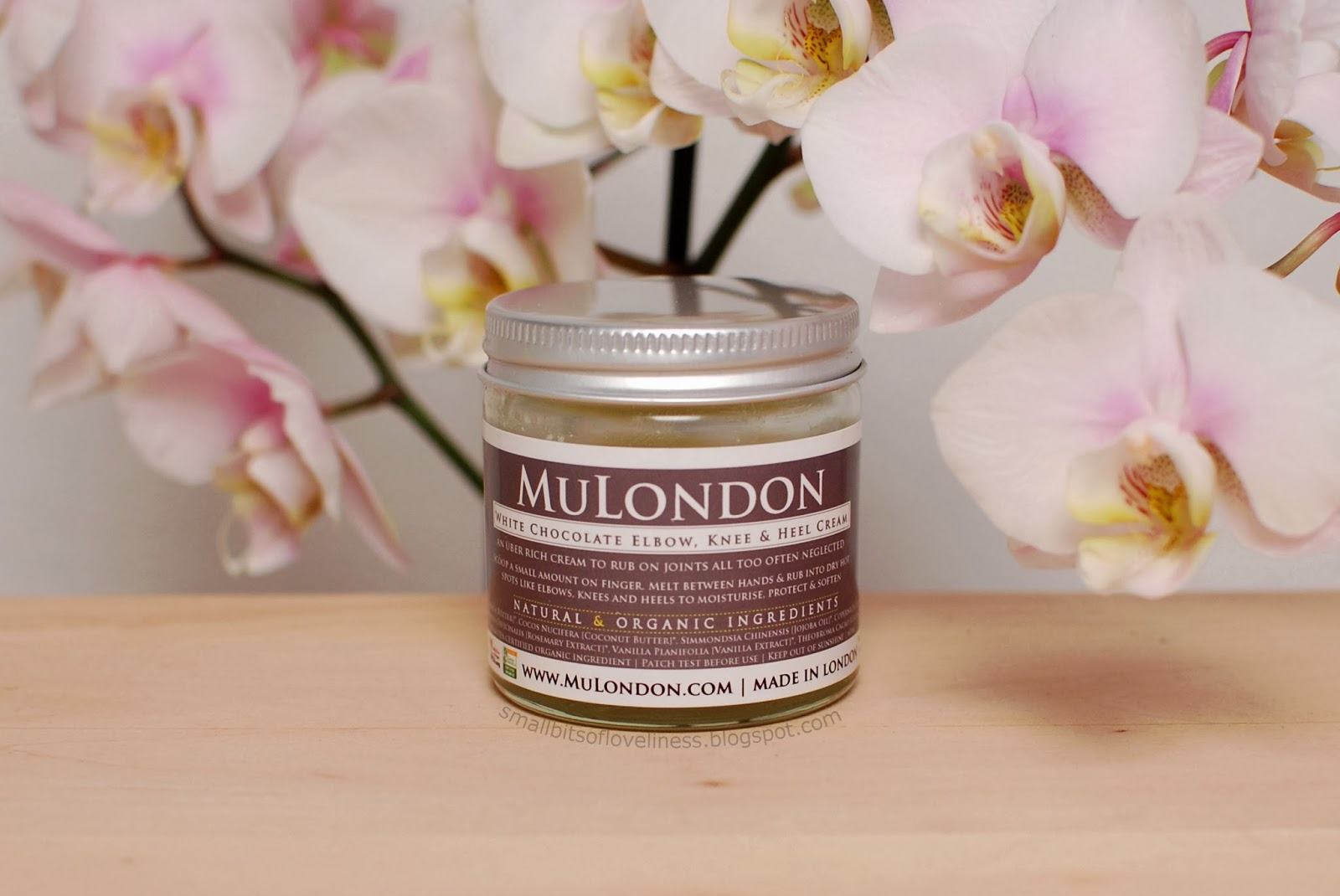 MuLondon White Chocolate Elbow, Knee & Heel Cream