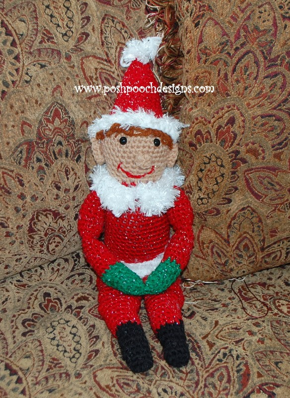 Free Knitting Patterns For Elf On The Shelf Clothes : Posh Pooch Designs Dog Clothes: Christmas Elf - Posh Pete ...