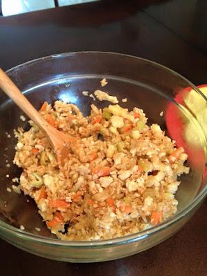 fake rice
