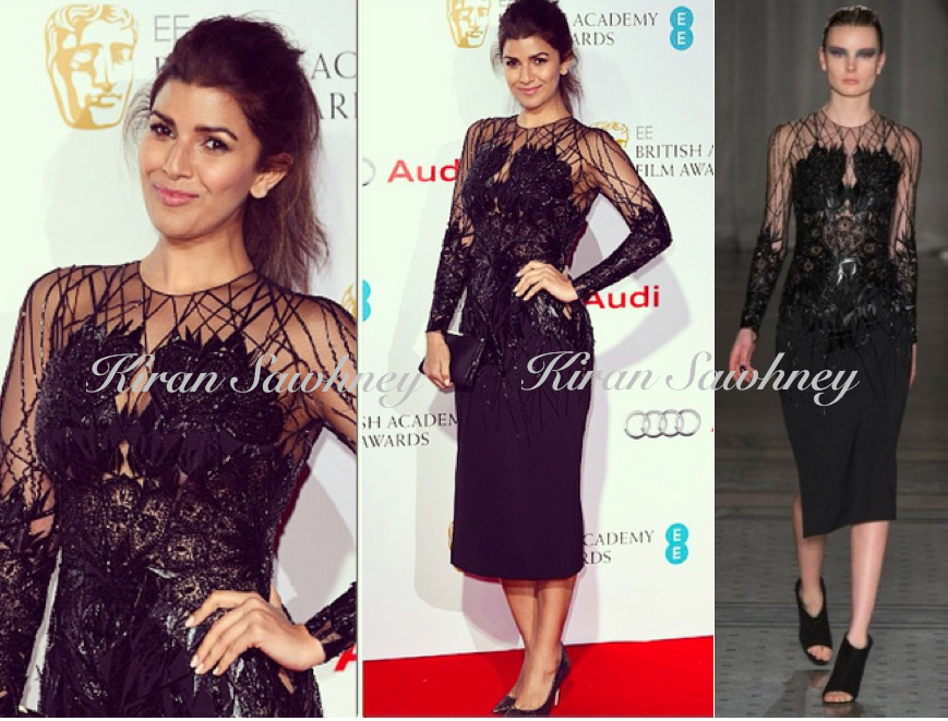 Nimrat Kaur at EE British Academy Awards Nominees Party Julien Macdonald