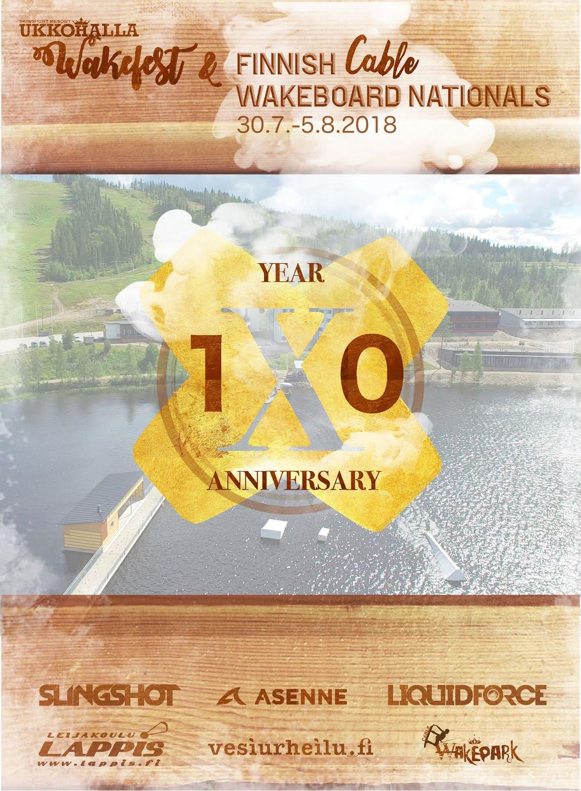 30.7.-5.8. Finnish Wakefest 18