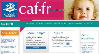 Le Caf Fr Espace Mon Compte