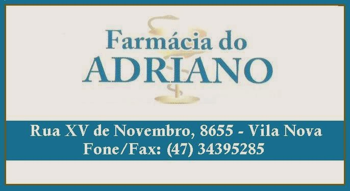 FARMÁCIA DO ADRIANO