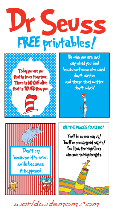 Dr Seuss Printables Galleryhipcom The Hippest Galleries