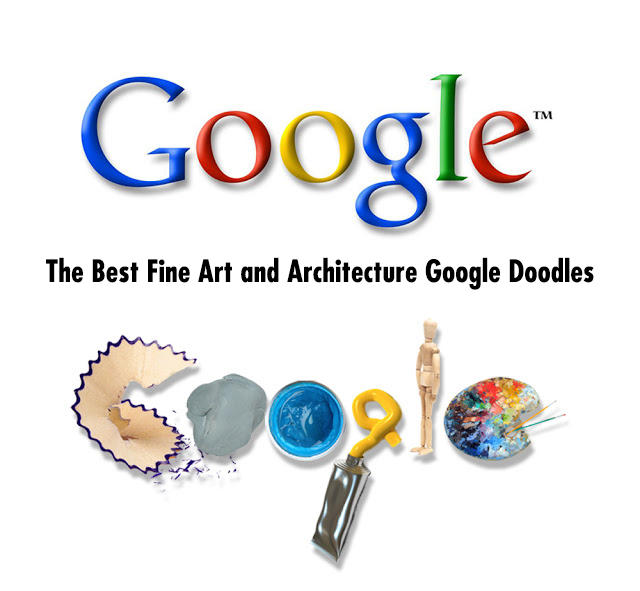 Doodle For Google: 36 Of The Best Artist & Architect Google Doodles Since